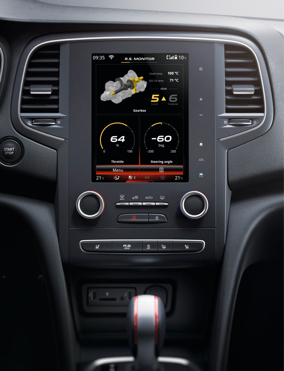 Galería Revista de coches, - Interior Renault Megane R.S ...