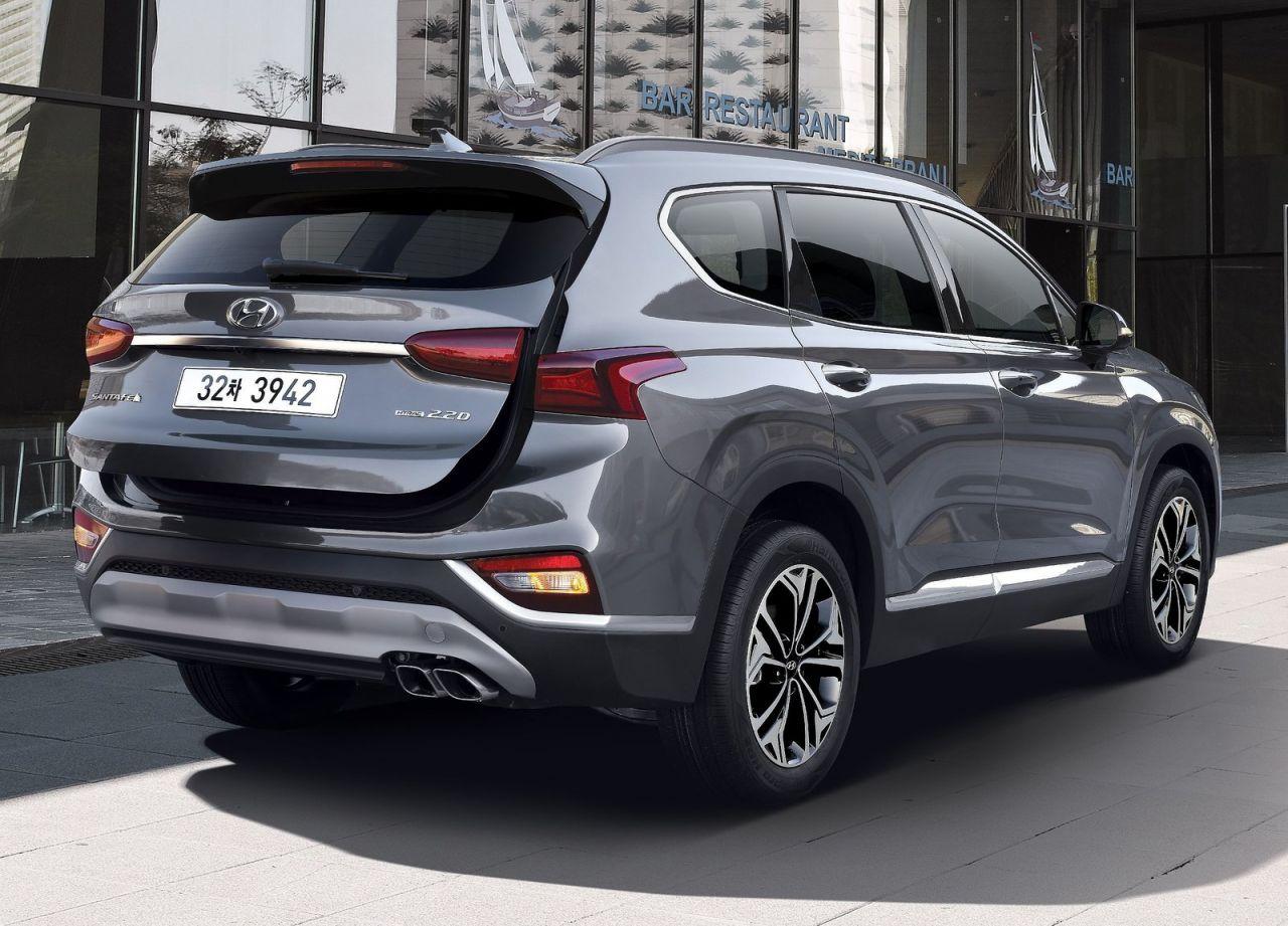 Galera Revista De Coches Hyundai Santa Fe 2019