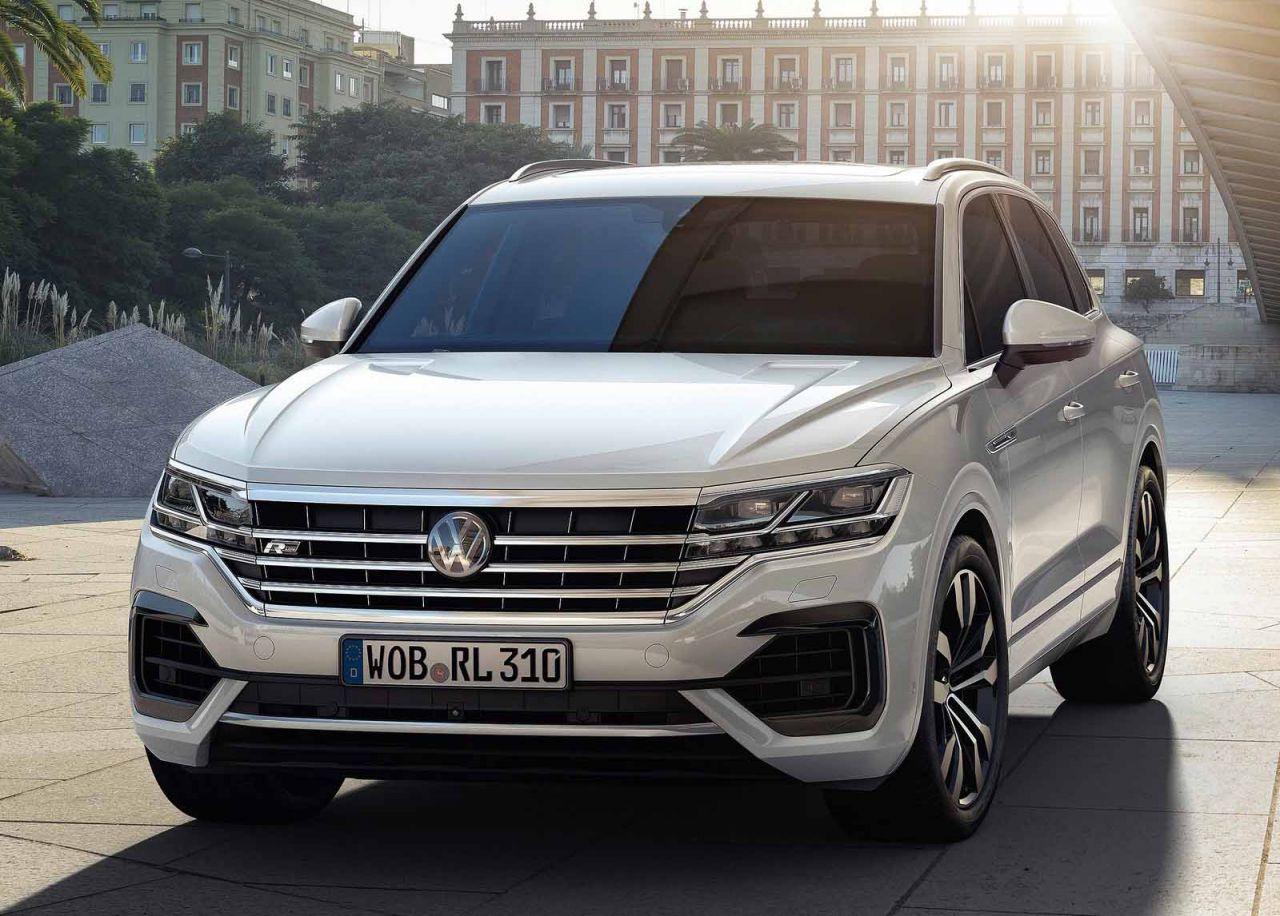 galer a revista de coches volkswagen touareg 2019 volkswagen touareg 2019. Black Bedroom Furniture Sets. Home Design Ideas