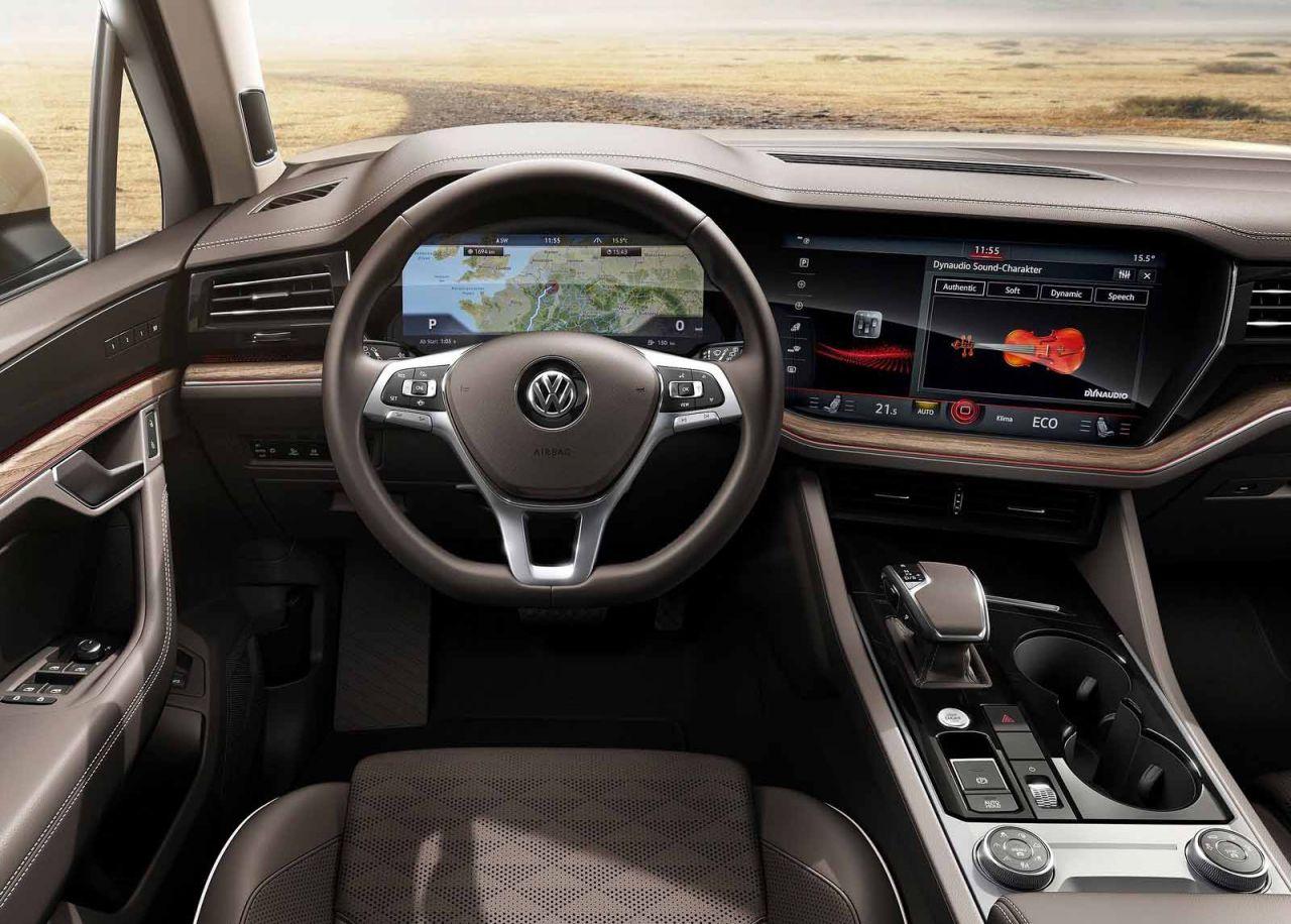Galer 237 A Revista De Coches Volkswagen Touareg 2019
