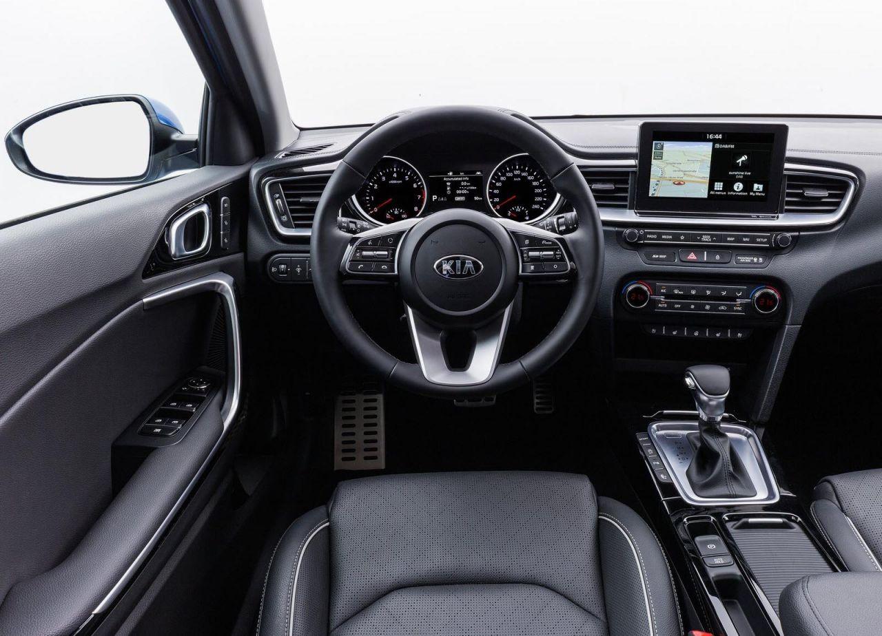 Kia Sportage Active 2018 >> Galería Revista de coches, - Interior KIA Ceed 2019 - KIA Ceed 2019