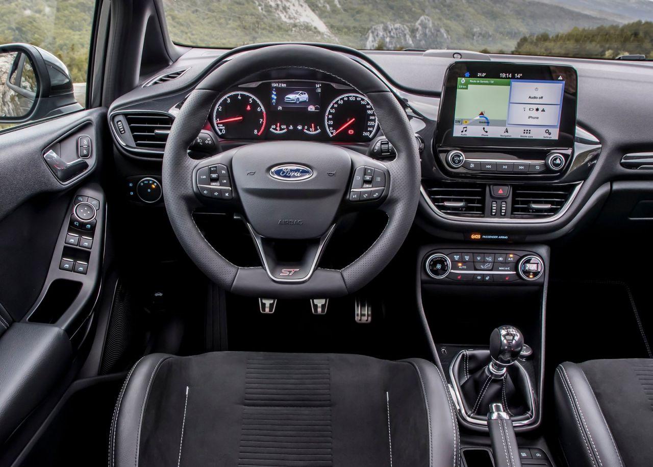 Galer 237 A Revista De Coches Ford Fiesta St 2019 Interior