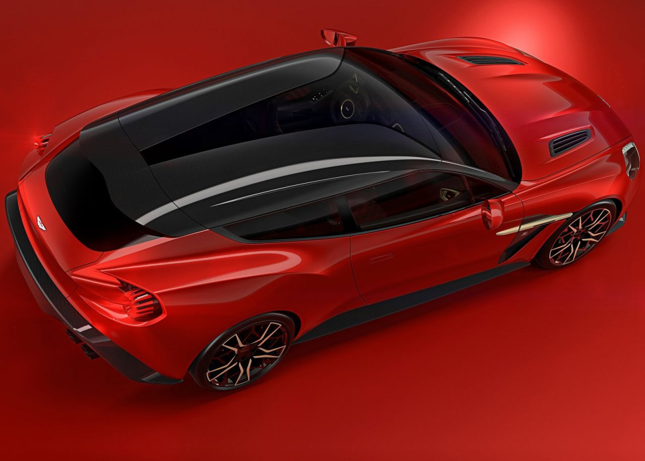 Galeria Revista De Coches Aston Martin Vanquish Zagato Shooting Brake Aston Martin Vanquish Zagato Shooting Brake
