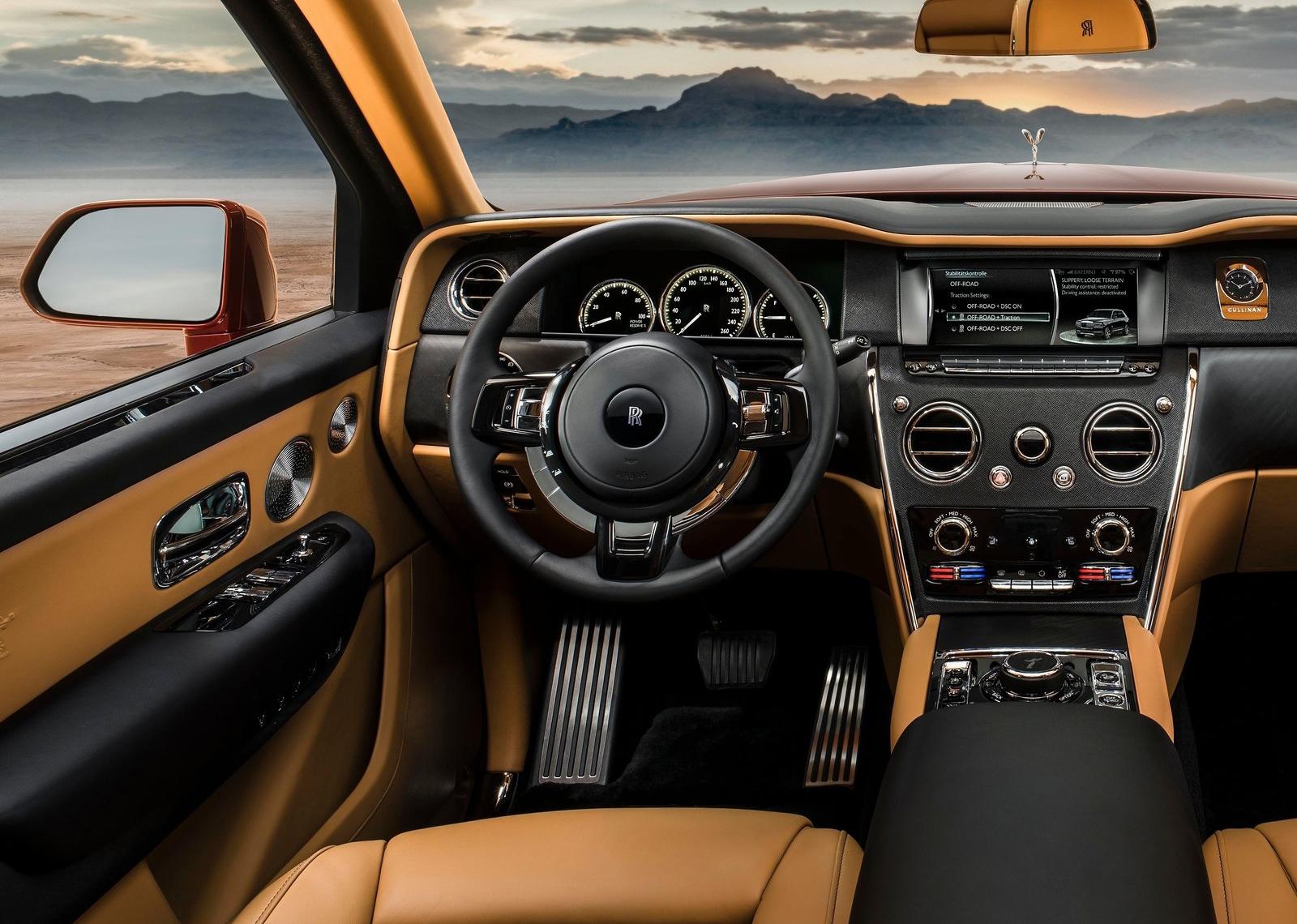 Galeria Revista De Coches Rolls Royce Cullinan 2019 Rolls