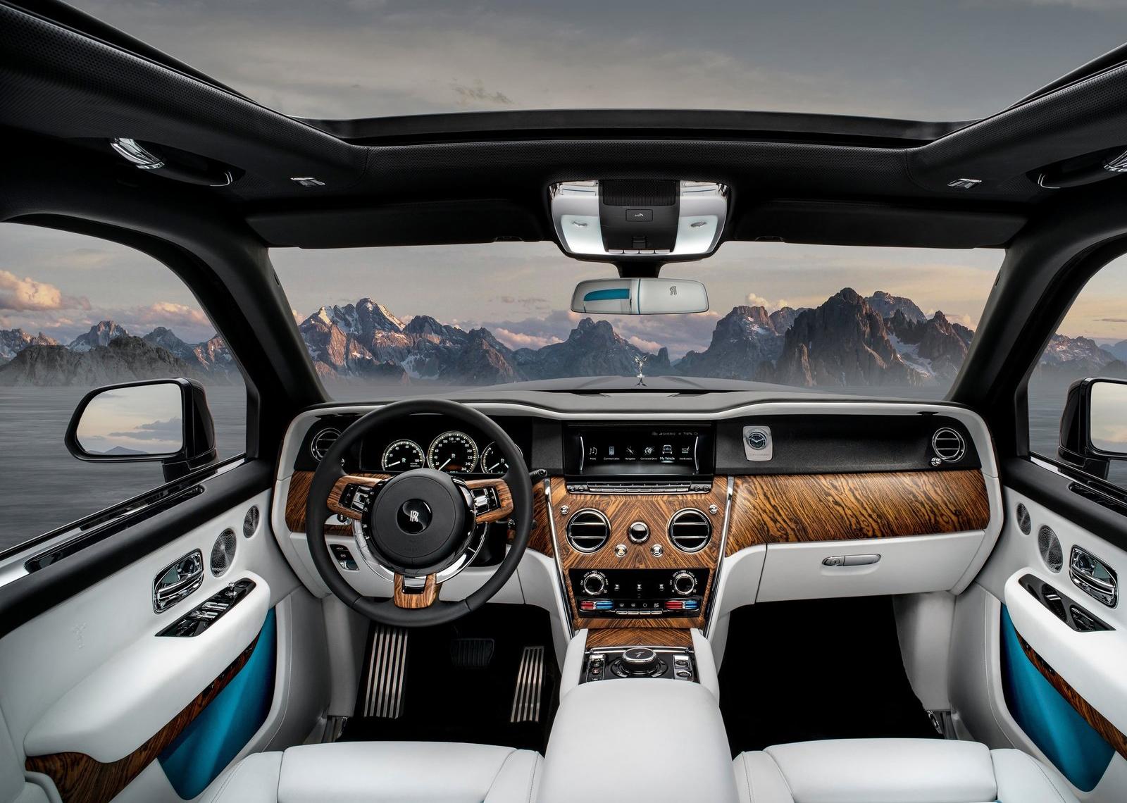 Galer 237 A Revista De Coches Rolls Royce Cullinan 2019