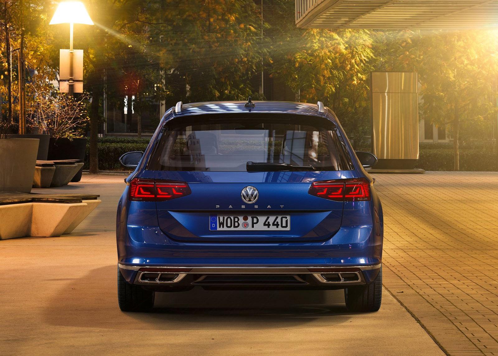 galer u00eda revista de coches  - volkswagen passat variant 2020