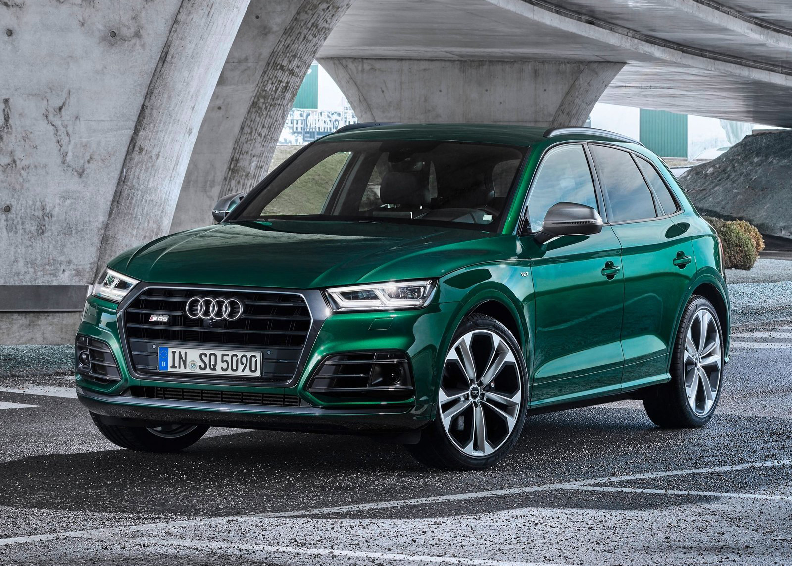 Galería Revista de coches, - Audi SQ5 TDI 2020 - Audi SQ5 ...