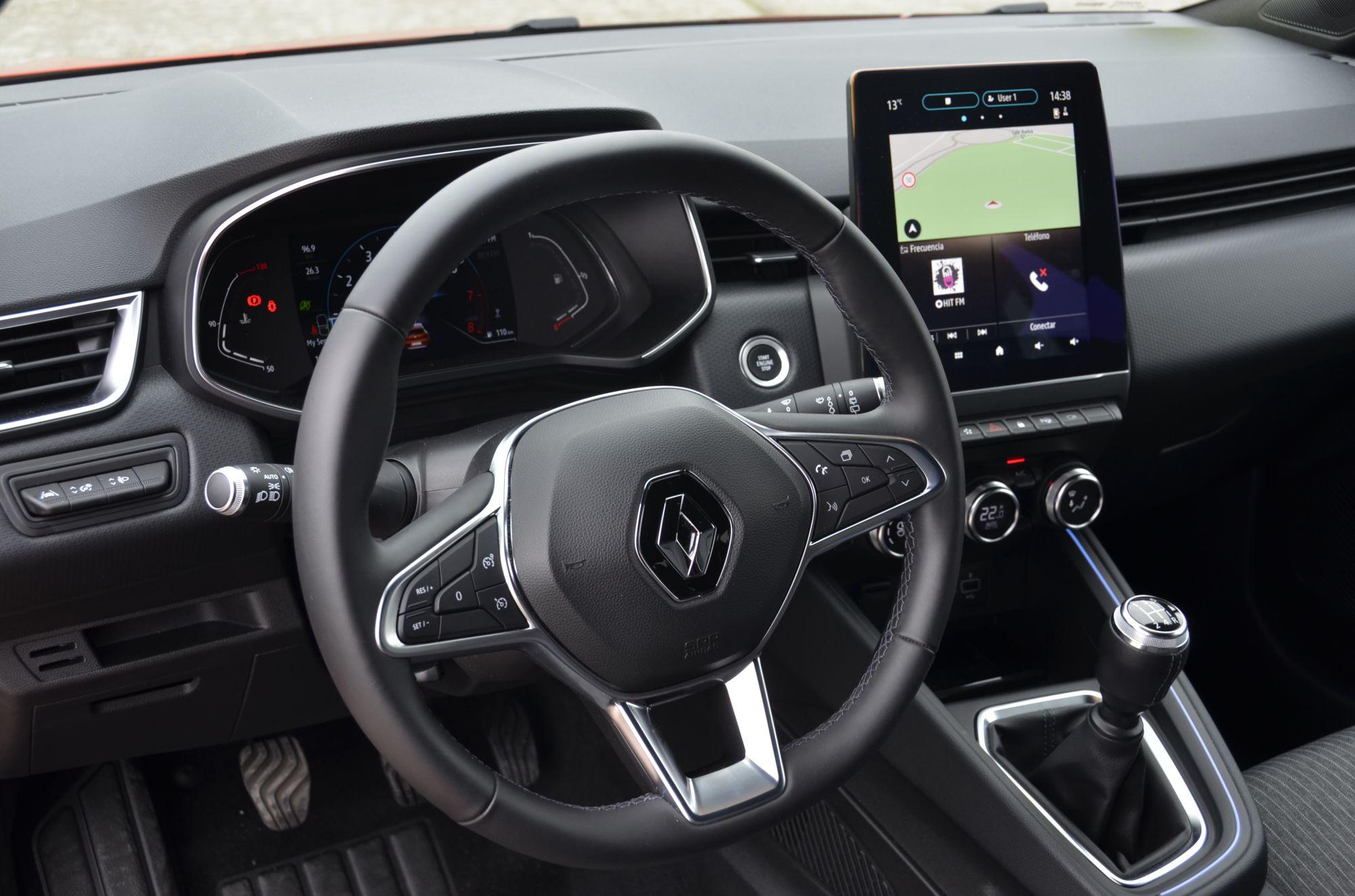 Galería Revista de coches, - Renault Clio 2020 Interior ...