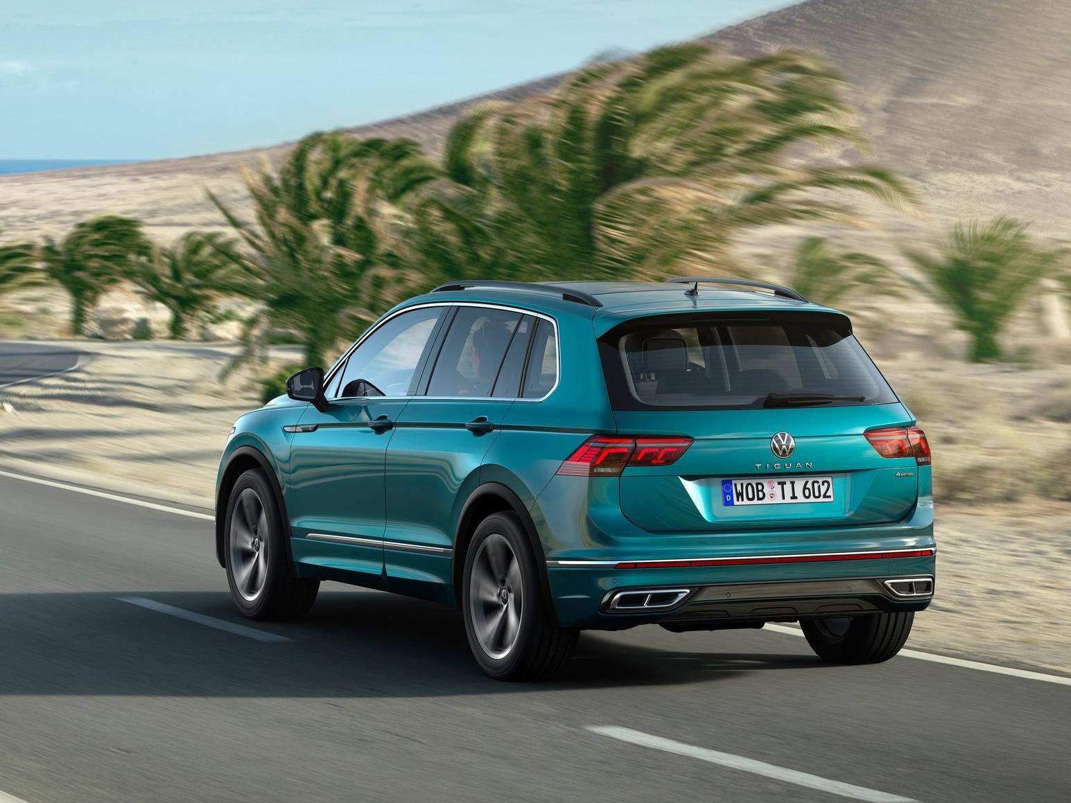 Galería Revista de coches, - Volkswagen Tiguan 2021 - Imagen