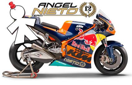 El equipo Angel Nieto Team dispondrá de dos KTM oficiales para el año 2019