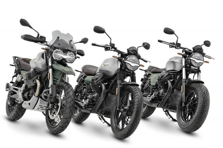 Moto Guzzi producirá una serie limitada de sus modelos