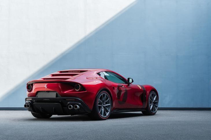 Ferrari Omologata, la gran tradición GT de la firma italiana.