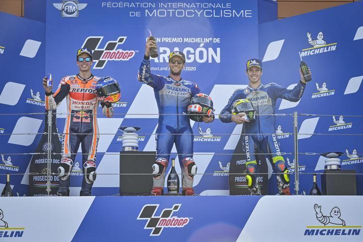 Alex Rins gana el Gran Premio de Aragón