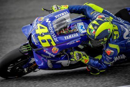 Rossi sorprende marcando el mejor tiempo del sabado