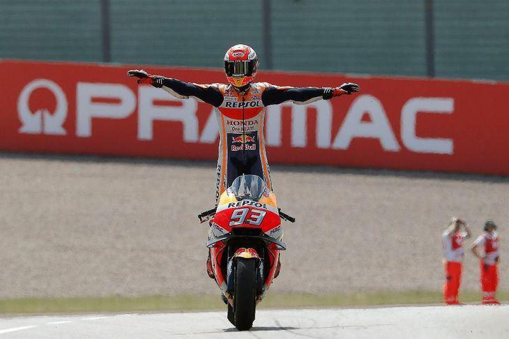 Super Márquez, voló; intocable, en MotoGP