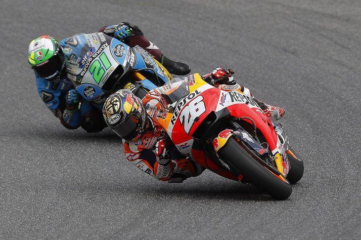 Pedrosa, el más rápido en el circuito de Brno