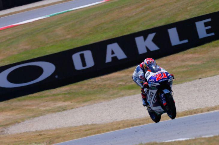 Giannantonio, consigue su primera victoria en Moto3