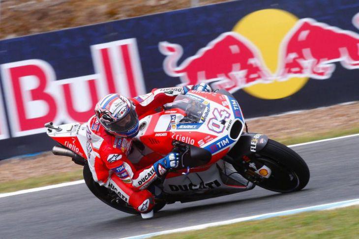 No ganó, Márquez, terminó tercero. Victoria para las Ducati de Dovizioso y Lorenzo