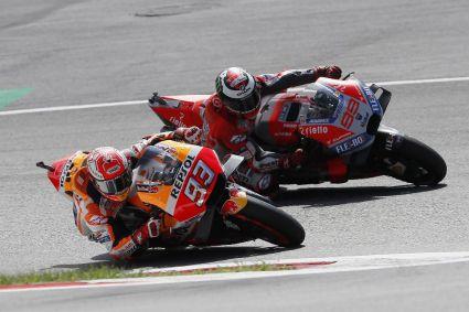 Otro duelo Márquez vs Lorenzo