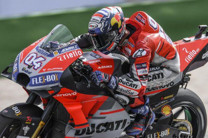 Dovizioso, sorprendió y ganó en MotoGP