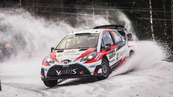 Latvala y Toyota ganan en Suecia