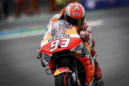 Marquez consigue la pole en Francia