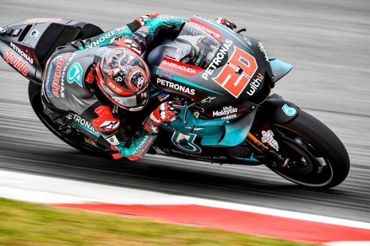 F. QUARTARARO (MotoGP), DI GIANNANTONIO (Moto2) y G.RODRIGO (Moto3), los más rapidos en Brno