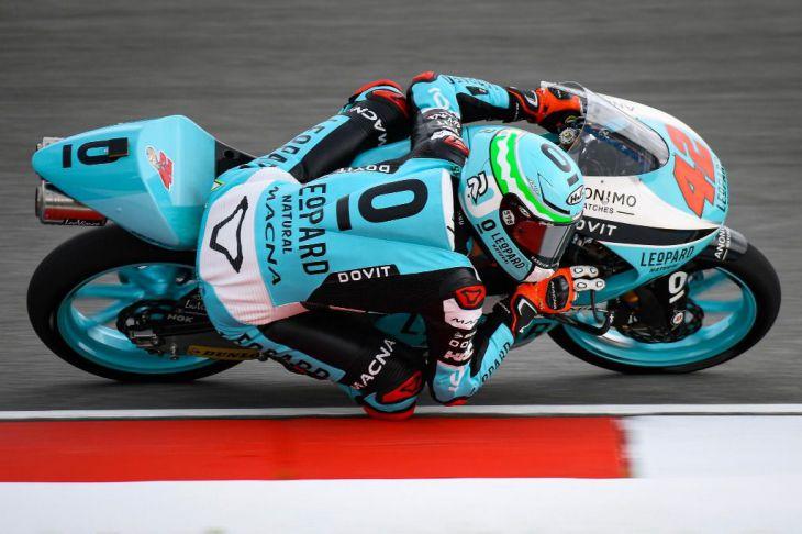 Victoria de Marcos Ramirez en Moto3