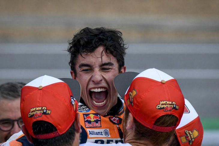 Marc Márquez, Campeón del Mundo MotoGP