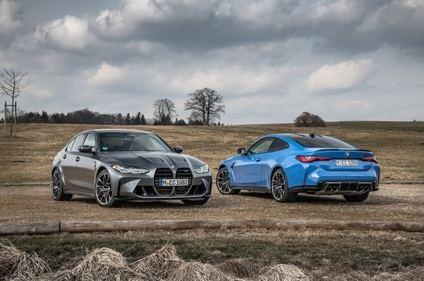 Nuevos BMW M3 Competición y BMW M4 Competición con tracción total
