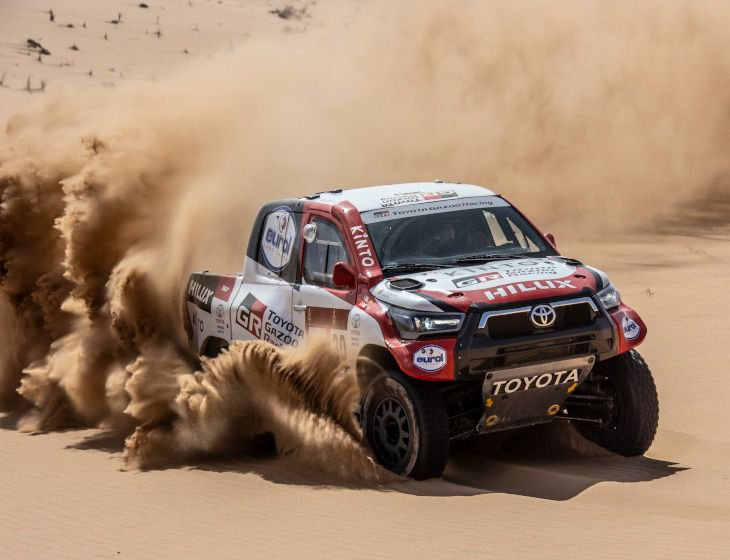 TOYOTA GAZOO Racing participará con cuatro nuevos Hilux en el Rally Dakar 2021