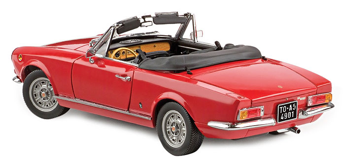 50 aniversario del Fiat 124 Spider