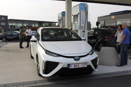 Madrid dispondra de una estación de respotaje de Hidrógeno para coches