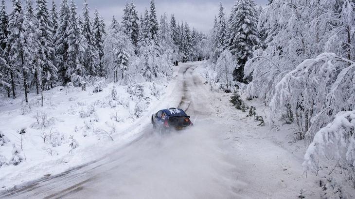 Itinerario del Rallye de Suecia