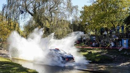 Rallye de Argentina con nueve especiales