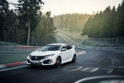 El Honda Civic Type R ya es el tracción delantera más rápido del mundo