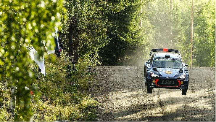 Rallye de Finlandia del 26 al 29 de julio