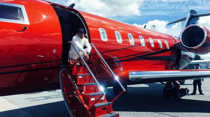 Lewis Hamilton compró su jet en un paraíso fiscal para ahorrarse el IVA