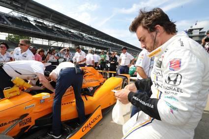 Fernando Alonso luchará por la 'pole'