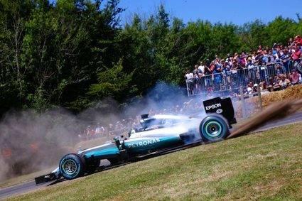 Nico Rosberg en primera persona en Goodwood