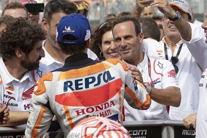 'Parece que el de Aragón se está convirtiendo en un circuito similar a Austin o Sachsenring para Marc'