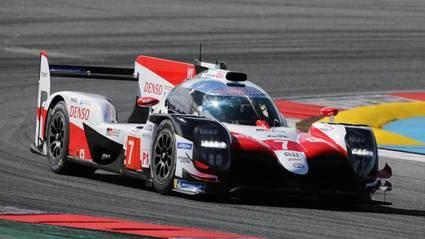 Alonso muy contento de la prueba con Toyota