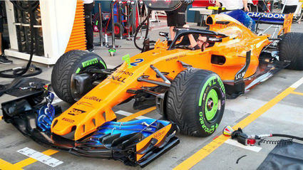 McLaren no está para 'poles'
