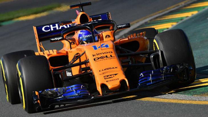 Alonso y Vandorme los más lentos en velocidad punta