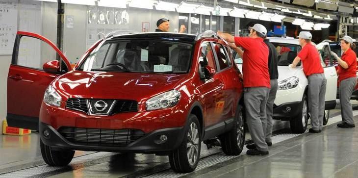 Nissan también produce en el Reino 'Unido'