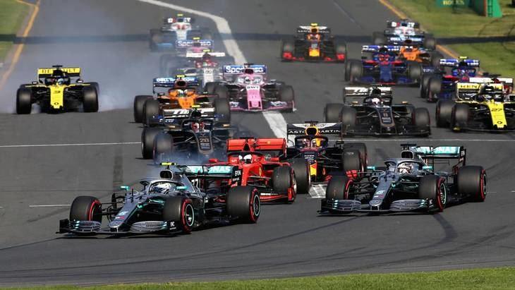 GP de Australia F1 2020: Horarios y Neumáticos