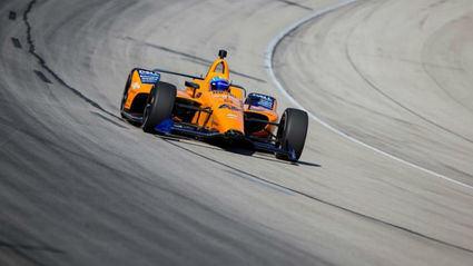 Fernando Alonso se prepara para las 500 Millas