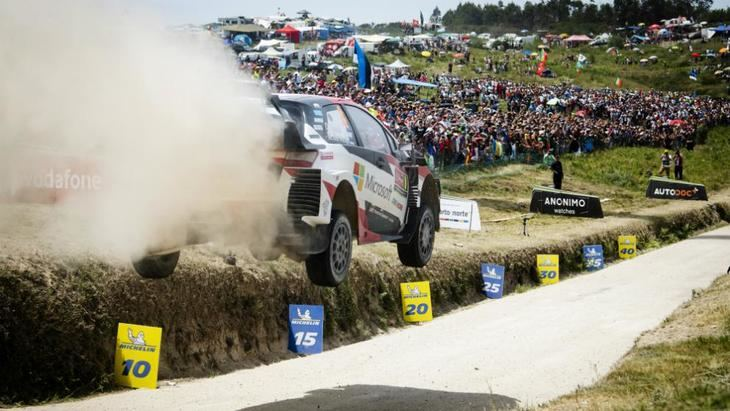 Rallye de Finlandia: Tanak se adelanta en el shakedown