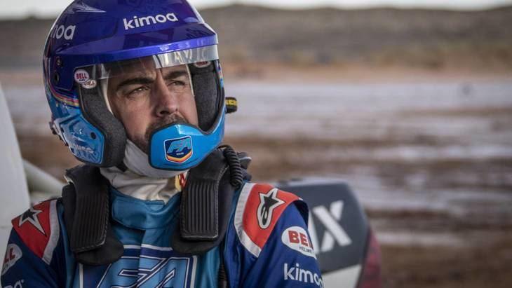 Fernando Alonso se prepara para la gran aventura