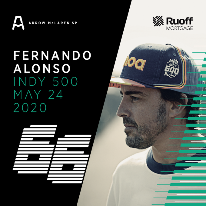 Fernando Alonso correra la Indy 500 con McLaren-Chevrolet